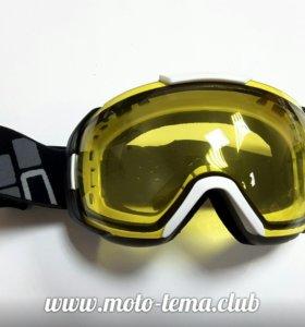Очки снегоходные CKX 500100, желтая линза.