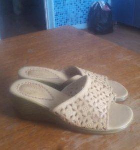 Туфли сабо новые