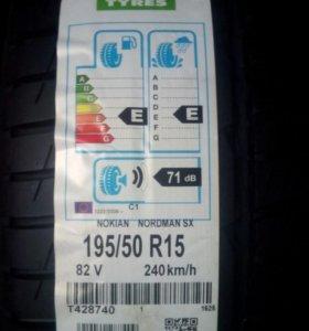 Шины Nokian 195/50R15 nordman SX2