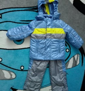 Курточка и полукомбинезон на теплую весну