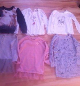 Пакет вещей на девочку 110-116