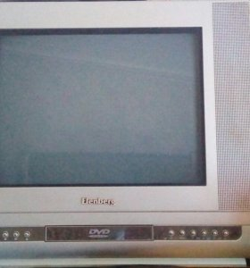 Продам телевизор+двд