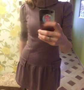 Платье тёплое 44-46