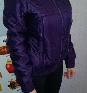Куртка Reebok родная НЕ подделка