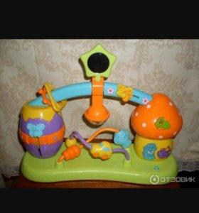 Игрушка музыкальная весёлая полянка baby go