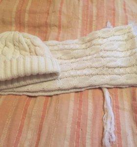 Шапка ,шарф