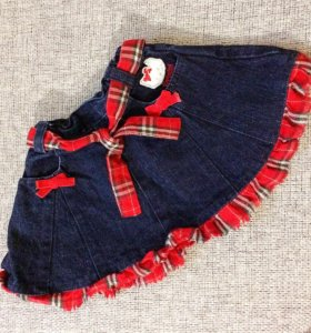 Джинсовая юбка на 1 год