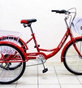 Велосипед грузовой Иж-Байк! Новые! Доставка! 3цв.
