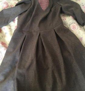 Платье полушерсть