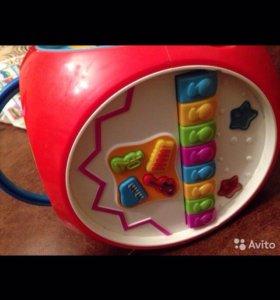 Мультикуб , музыкальная игрушка для ребёнка