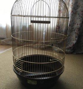 Клетка для попугая птицы совы