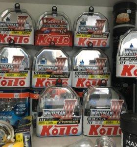 Лампы H4 Koito комплект 2шт