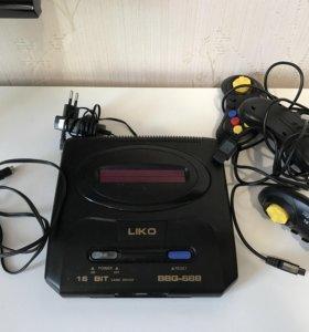 Sega Mega Drive 16bit + игры