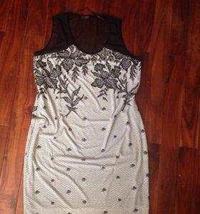 Комплект платье+накидка