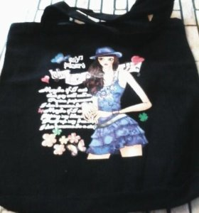 Продам сумку с черного катона.