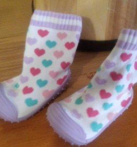 Детские комнатные носочки.