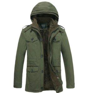 Куртка мужская зимняя. Новая. Р-р: 52,54,56,58