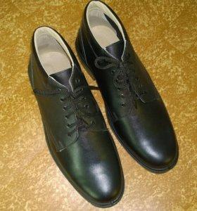 Ботинки хром мужские черные Новые!