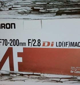 Объектив Tamron 70-200