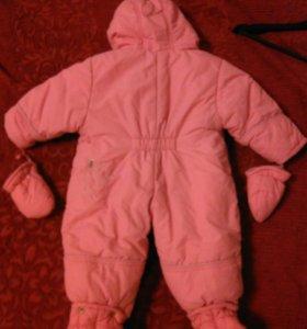 Зимний детский комбинезон от 0