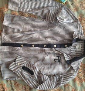 Рубашка на 10 лет(140)