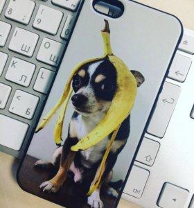 Накладка для Apple iPhone 5/5S/SE силиконовая
