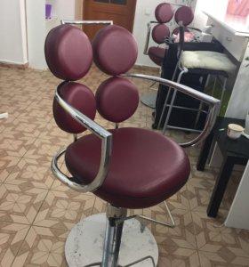 Кресло парикмахера,2 шт