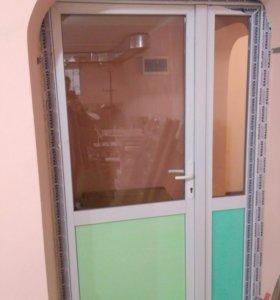 Дверь стеклопластик