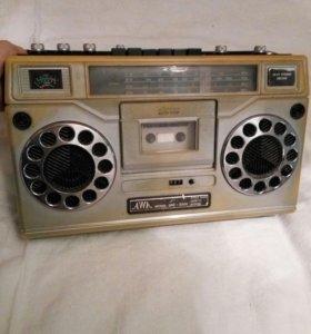 Магнитофон,ретро, коллекция, японский магнитофон