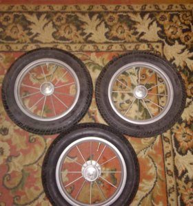 Новые колёса для колясок