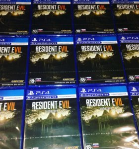 Resident Evil Biohazard 7 PS4