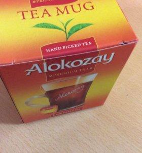 Фирменная кружка для чая