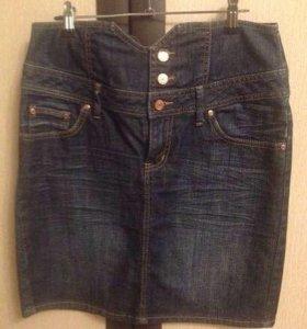 Юбка джинсовая Gina