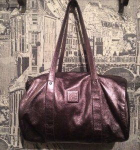 Longchamp кожаная сумка