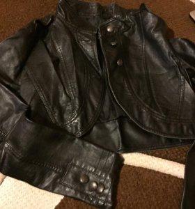 Куртка и жилетка б/у