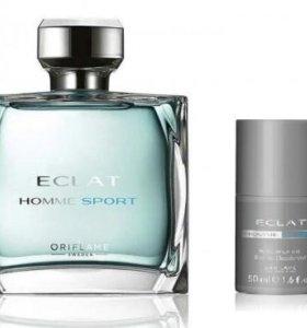 Туалетная вода и дезодорант Eclat HommeSport