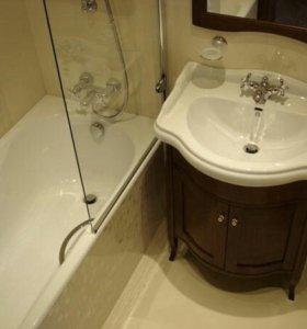 Ремонт ванных. Ремонт ванных комнат. Санузлов.