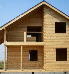 Строительство домов,бань