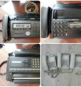 Факсы и телефоны