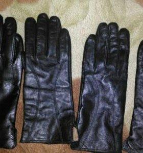 Перчатки кожаные 8, 8,5 и 11 размер