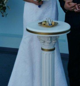 """Свадебное платье """"Рыбка """""""