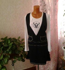Платье-туника новая.очень теплая.