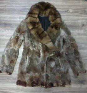 Полушубок мутон тёплый продаю разбираю гардероб