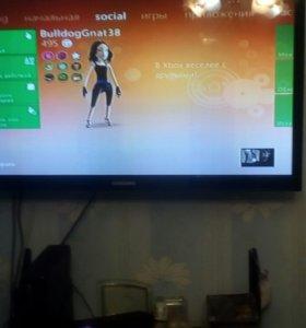 Xbox 360 slim+kinect+10игр+накопитель250gb