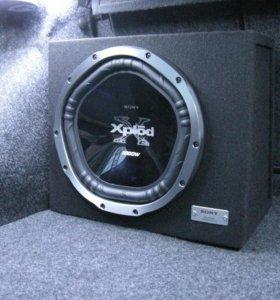 Сабвуфер Sony Xplod 1000w