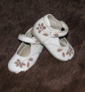 Туфли нарядные 13,5см, кожа