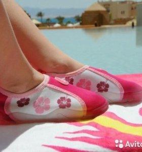 Аква обувь для девочки