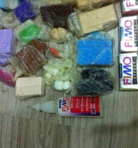 Полимерная глина новая