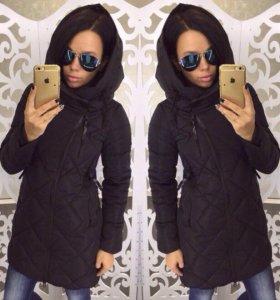 Очень тёплое и стильное пальто