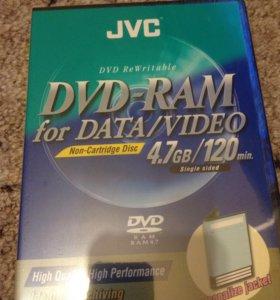 JVC DVD  RAM 4,7 Gb